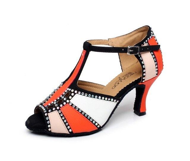 De Talons Femmes À Hauts Salle Chaussures 3rajl45 Latine Danse 675 Bal ALRjq435