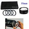 77 мм 77 мм 4 крупным фильтра линзы + 1 + 2 + 4 + 10 для канона Nikon Olympus Pentax Panasonic фудзи-xerox DSLR цифровой зеркальной камеры объектив