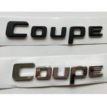 Chrome Matte Gloss Black Letters C o u p e Fender Trunk Lid Badges Emblems Emblem Badge Sticker for Mercedes Benz AMG Coupe