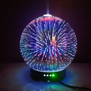 Image 3 - 7 LED Color Lighting Modes 3D Aromatherapy Essential Diffuser Fragrance Oil Humidifier Firework Theme Premium Ultrasonic Mist