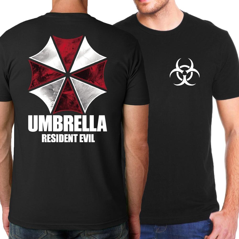 Hot Sale high quality Umbrella   T  -  Shirts   Men 2019 Summer 100% Cotton Men   T     Shirt   Hogwarts Short Sleeve   T     shirts   Hiphop For Adult