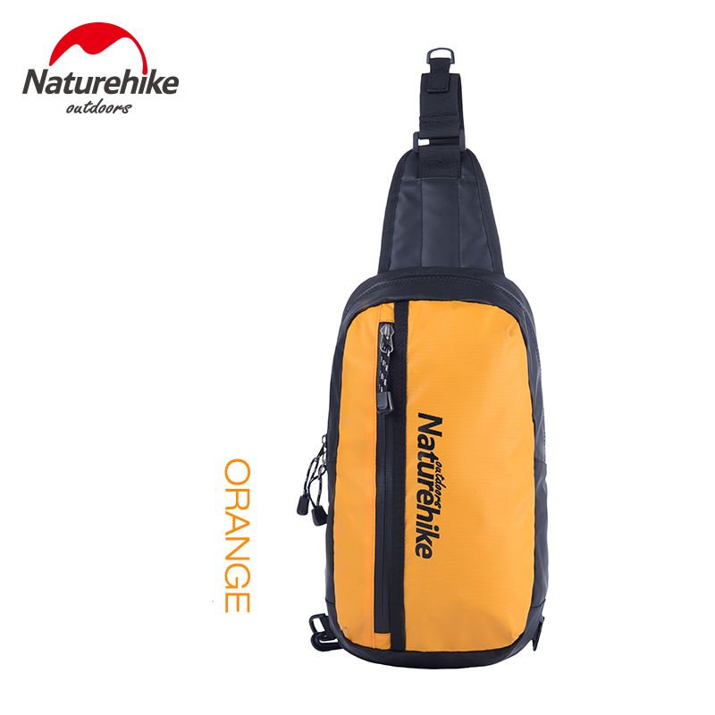Naturehike Unisex Outdoor Sports Bag TPU Waterproof Hiking Bag For Bicycle Cycling Breathable Chest Shoulder Running Bag 8L harlem hl1087 outdoor sports tpu backpack water bag dark green 2l