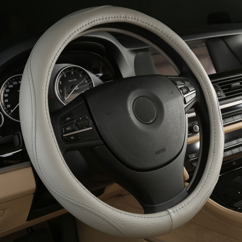 car steering wheels cover genuine leather accessories for Nissan Murano Pathfinder Pickup Quest Sentra Titan Xterra