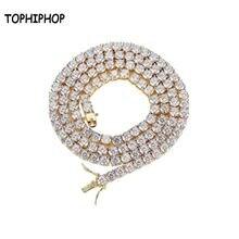 Хип хоп золото ожерелье s циркон ювелирные изделия в стиле хип