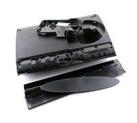 Ps3 슈퍼 슬림 4000 4xxx 콘솔 쉘 커버에 대한 블랙 전체 주택 케이스