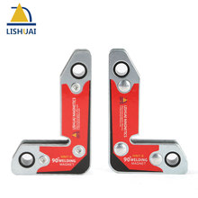 цена на LISHUAI New Strong Neodymium Magnetic Clamp/Corner Welding Magnet Holer two pcs/pack WM7