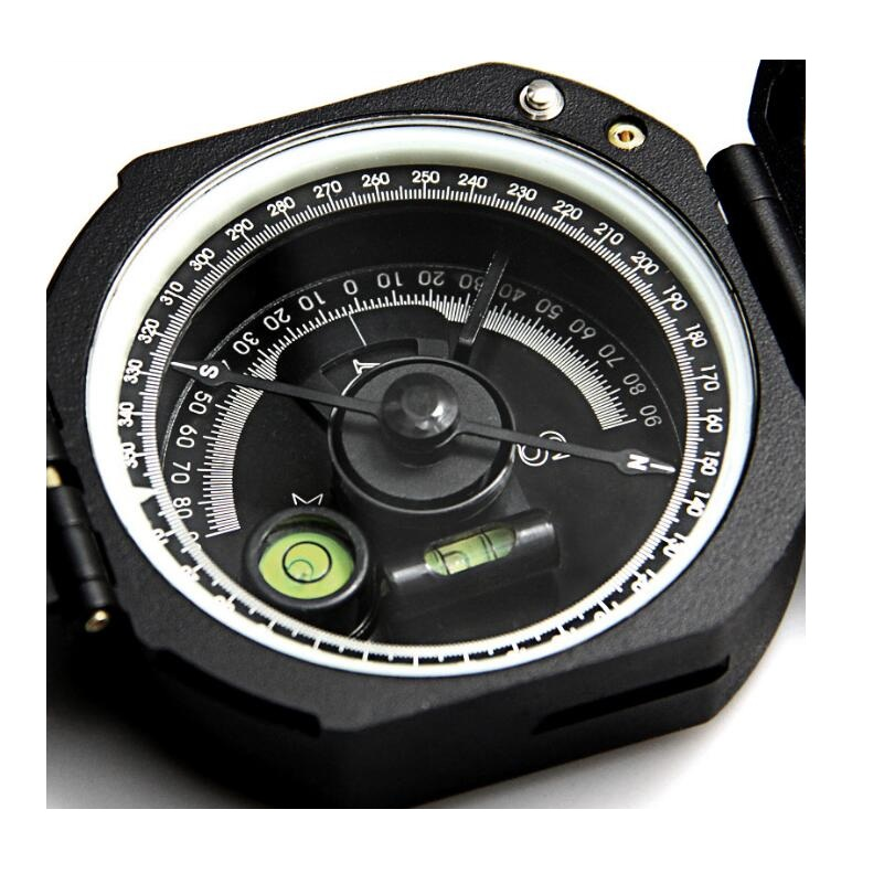 M2 Eyeskey Professional Geological Compass Lightweight Military Compass Outdoor Survival Camping Equipment Pocket Compass outdoor sports nylon survival paracord bracelet w compass black white