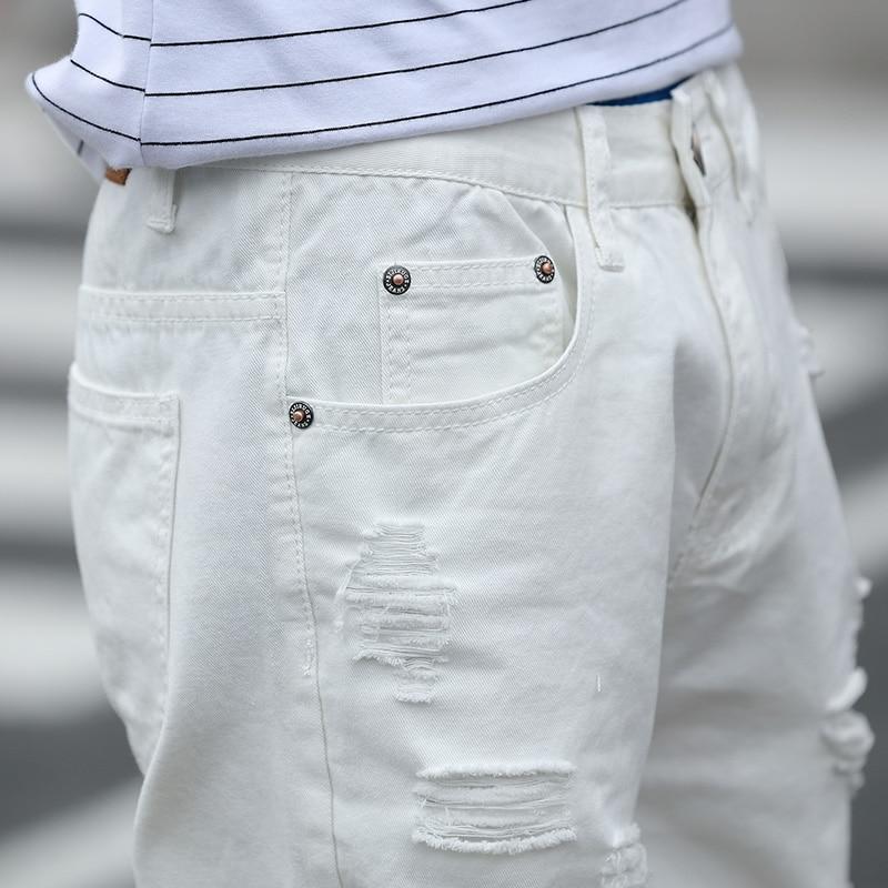 Pantalones cortos de mezclilla para hombre Slim Regular Longitud de - Ropa de hombre - foto 6