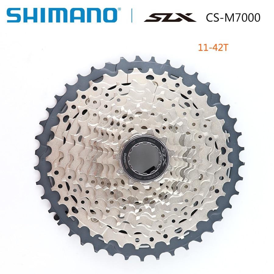 SHIMANO SLX CS M7000 Freewheel MTB 11 speed Mountain Bike M7000 Cassette Sprocket 11 42T 11