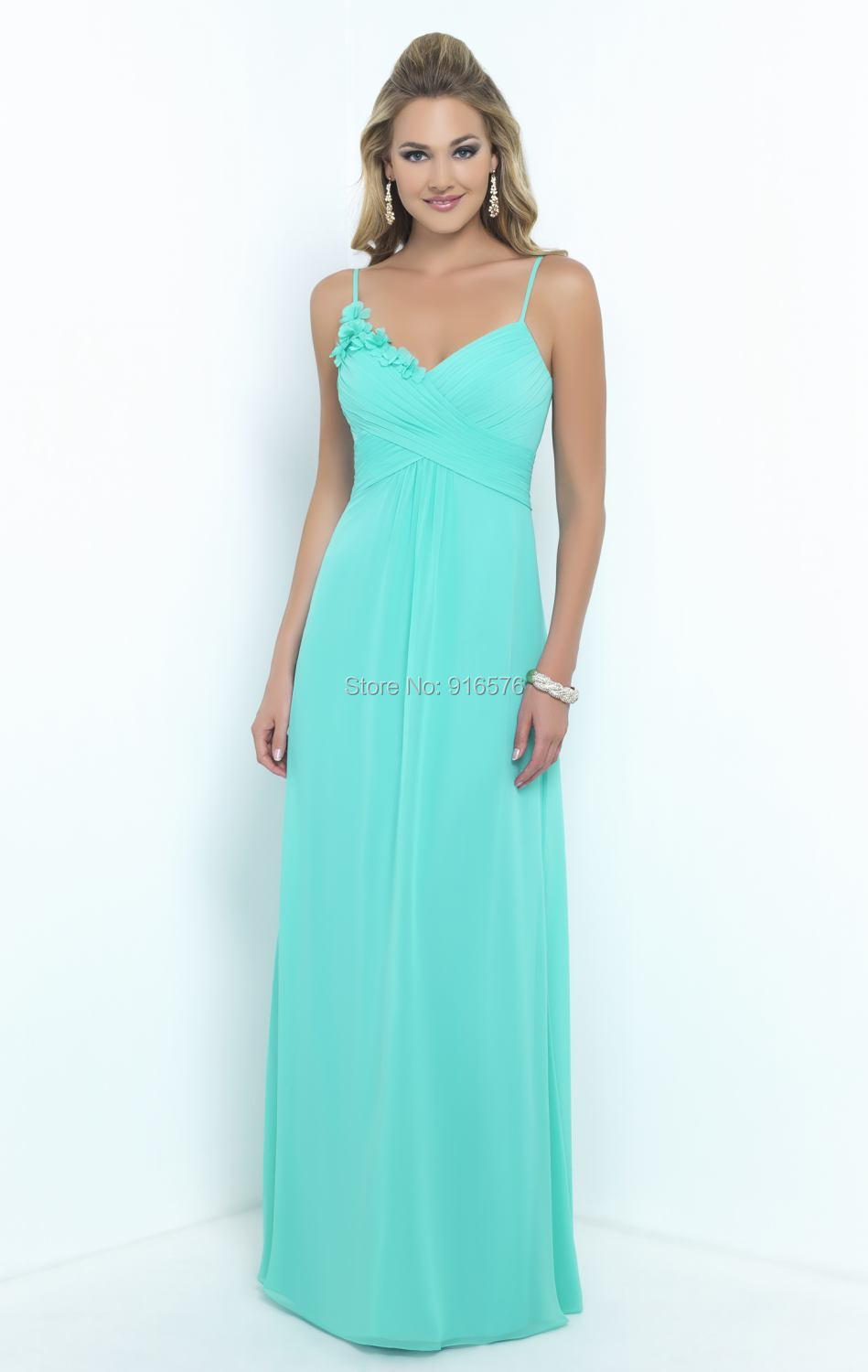 Aliexpress buy seamist long bridesmaid dress with spaghetti aliexpress buy seamist long bridesmaid dress with spaghetti straps brides maid dresses empire waistline floor length from reliable dress racing ombrellifo Images
