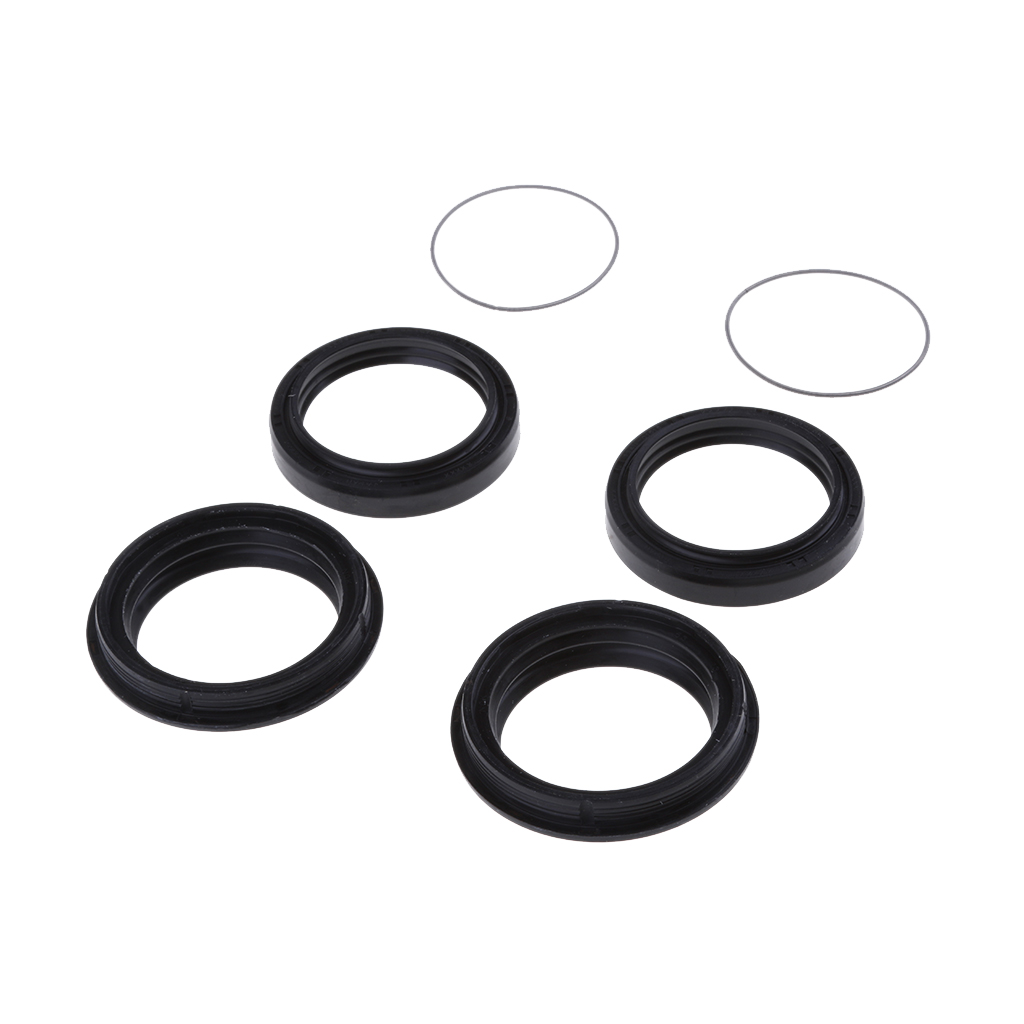 Image 5 - 1 Set 41x53x8mm 2 Pcs Rubber Front Fork Oil Seal & 2 Dust Seal Set Fit Yamaha XJR400 Prevent Oil Spills Motorcycle Accessories-in Covers & Ornamental Mouldings from Automobiles & Motorcycles