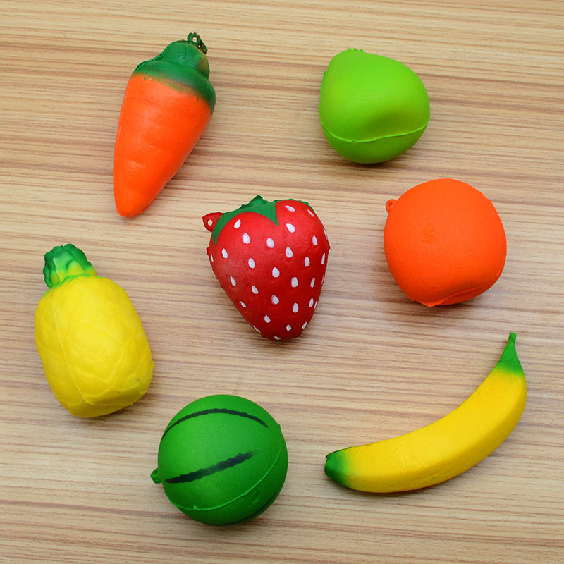 2018 Fashion Home & Garden Funny Squishy Squeeze Toys Chicken And Eggs Key Chain Ornaments Stress Relieve Furniture