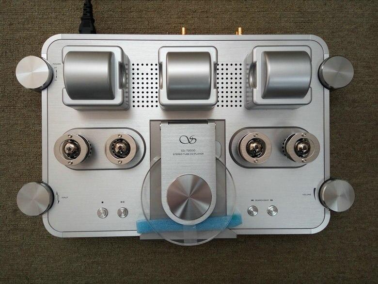 Shanling CD-T2000 HIFI CD Player HI-END Vacuum tube CD Player PCM1792 24bit/192KHz Coaxial USB DAC XLR output