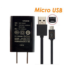 For Original Mi Travel Charger 5V 2A Chargers Adapter Micro USB Cable for xiomi Xiaomi Mi/2/3/4 RedMi 6 7 4X 4A Note 2/Note 5 4