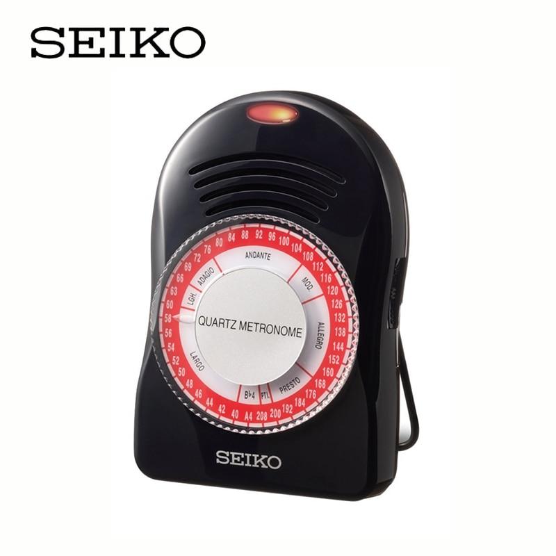 Métronome Seiko SQ50-V à Quartz pour guitare/Piano/violon [métronome pour instruments généraux]