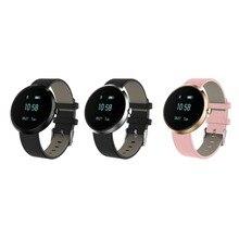 V06 смарт-наручные часы крови Давление heartrate Браслет Жизнь Водонепроницаемый часы наручные часы для IOS Android PK ID107 A9