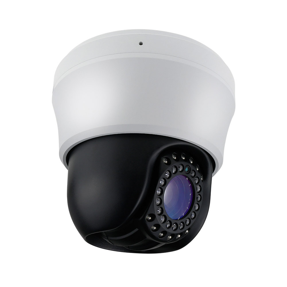 Home Security Full HD 1080P AHD High Speed Dome PTZ IR Camera 10X Zoom top high speed full teeth piston