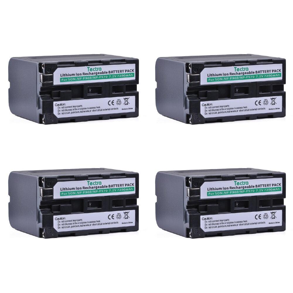 7200mAh 4PCS NP-F960 NP-F970 NPF960 NPF970 NP F960 Battery for Sony CCD-TRV101 CCD-TRV11 CCD-TRV15 CCD-TRV215 Camcorder Bateria7200mAh 4PCS NP-F960 NP-F970 NPF960 NPF970 NP F960 Battery for Sony CCD-TRV101 CCD-TRV11 CCD-TRV15 CCD-TRV215 Camcorder Bateria