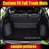 Custom Fit Car Trunk Mat For Ford Edge Escape Kuga Fusion Mondeo Ecosport Focus Fiesta Car