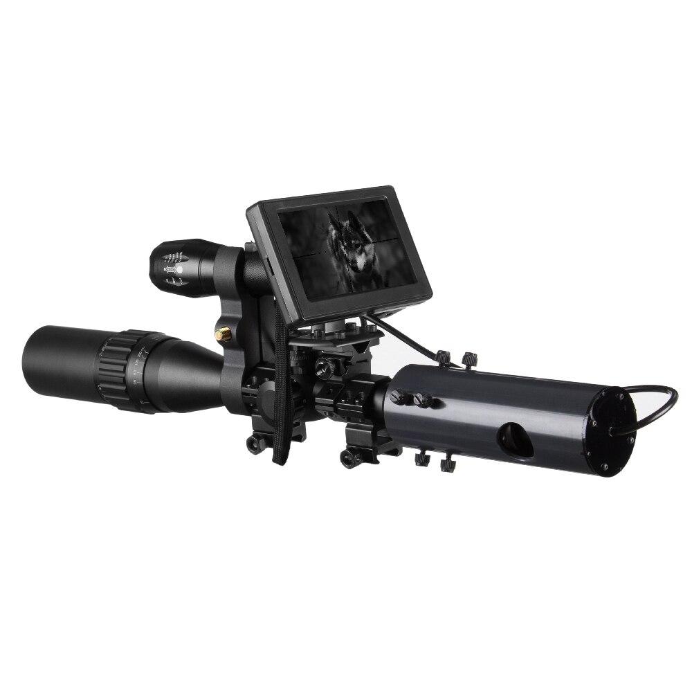 850nm infrarouge led IR Vision nocturne dispositif portée caméras de vue en plein air 0130 étanche faune piège caméras A - 6