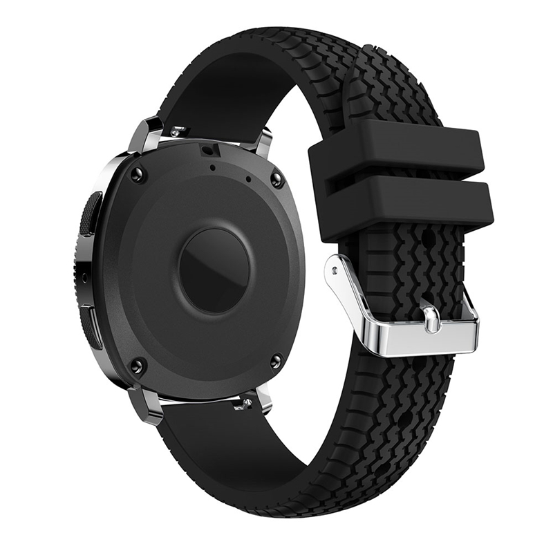 цена на Bemorcabo 20mm Silicone Sport Textured Tire Pattern Watch Strap Band Bracelet for Samsung Gear S2/Samsung Gear Sport 9 Colors