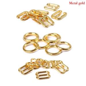 Image 3 - Hebillas de ajuste de correa de sujetador de Metal/Plástico, anillos deslizantes para ropa interior, Clips para ajuste de lencería, accesorios DIY, 20 Uds. 6mm ~ 25mm