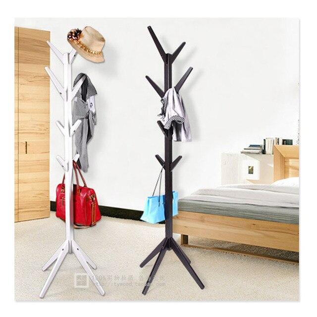ikea multifunctionele vloer hout kapstok boom woonkamer houten ...