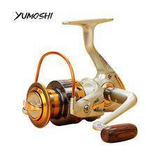 YUMOSHI EF 12 BB Metal rocker arm Metal handle 500-9000 Metal fishing reel sea reel