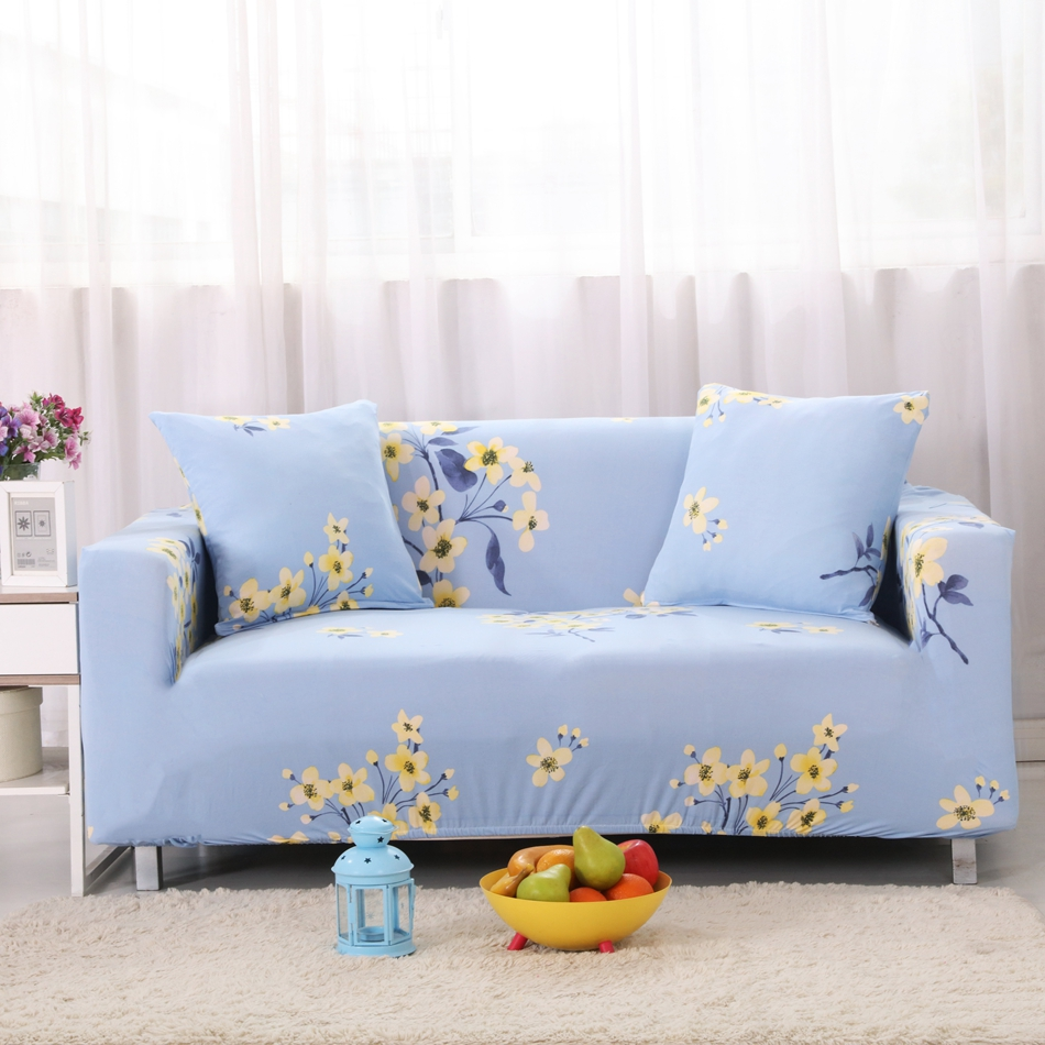 Light Blue Couch Covers ~ Light Blue Sofa Slipcover
