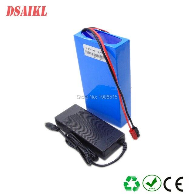 Livraison gratuite batterie Lithium ion 24 volts 10Ah avec 20A BMS 250 W 24 V 350 W batterie pour kit de moteur de fauteuil roulant électrique