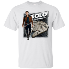 SOLO MOVIE : A STAR WARS STORY 7c Cotton T-Shirt Youth Round Collar Customized T-Shirts free shipping