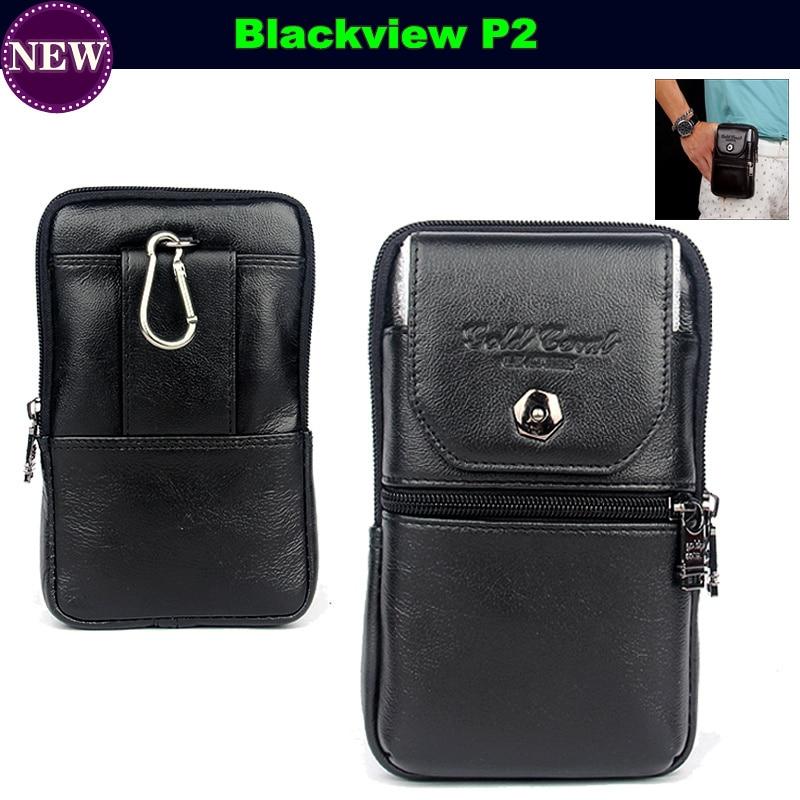 imágenes para Cintura Cinturón Bolsa Monedero Caja de La Bolsa Universal para Blackview P2 5.5 pulgadas Cubierta de Cuero Del Tirón Bolsas Móvil Casos Envío Libre