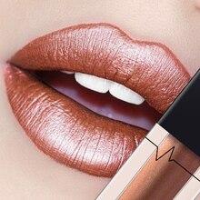Pudaier 24 Colors Shimmer Lipstick Sexy Long Lasting Glitter Lip Gloss Eye Shadow Pigments Metallic Liquid Batom Maquiagem