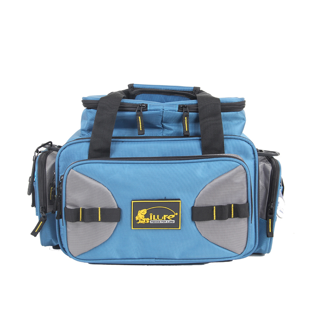 Canvas fishing waist waterproof bags Saddle bag tackle Lure hook tool box accessories bag top quality fishing tackle box plastic handle fish box carp fishing lure tool fishing accessories case
