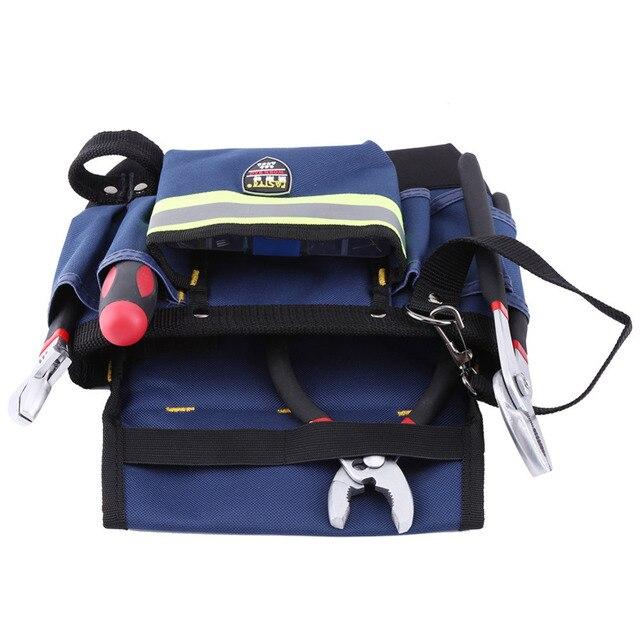 600d oxford cloth tool bag 30x19 x10cm electrician tool pouch electrician waist bag tool holder tool