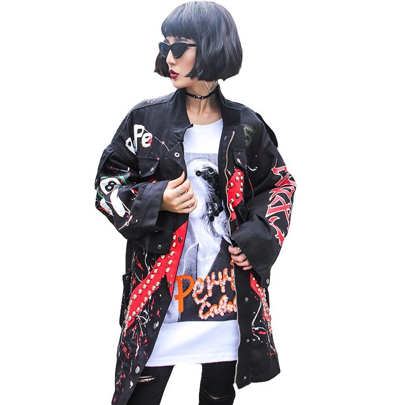 c26119ea7ac 2018 -New-Fashion-Rivet-Print-Denim-Jacket-Women-Autumn-Big-Size-Loose-Women-s-Windbreaker-Street.jpg