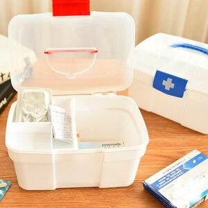 Image 5 - 大家族緊急キット子供緊急ボックスポータブル救急箱旅行医療キットヘルスケア収納袋空の袋