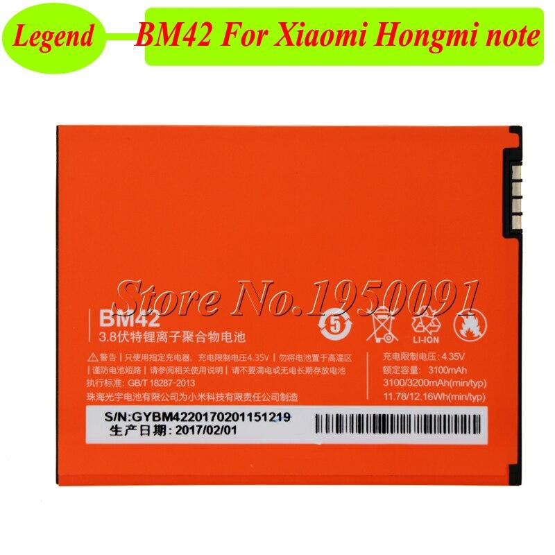Bateria Bm42-Battery NOTE Xiaomi Redmi Ce for AKKU Hongmi 3100mah