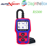 RS300 AUTOXSCAN  Auto OBD2 Code Scanner Colorful Screen I/M Readiness Turn Off Engine Light Erase Read DTC Than Autophix OM126 Code Readers & Scan Tools    -
