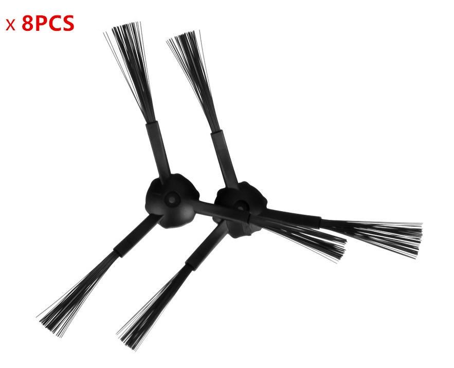 8pcs side brush for ilife a4s a4 a6 ilife v3s pro v3s v3 v5s pro v5s v5 x5 robot vacuum cleaner parts side brushes accessories inmotion v3s