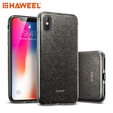 HAWEEL Makeup Series TPU + PC Glitter Case for iPhone X & XS iPhone 7 & 7Plus iPhone 8 & 8Plus iPhone Cover Shell Guard чехол rock tpu pc guard series для iphone 7 plus 5 5