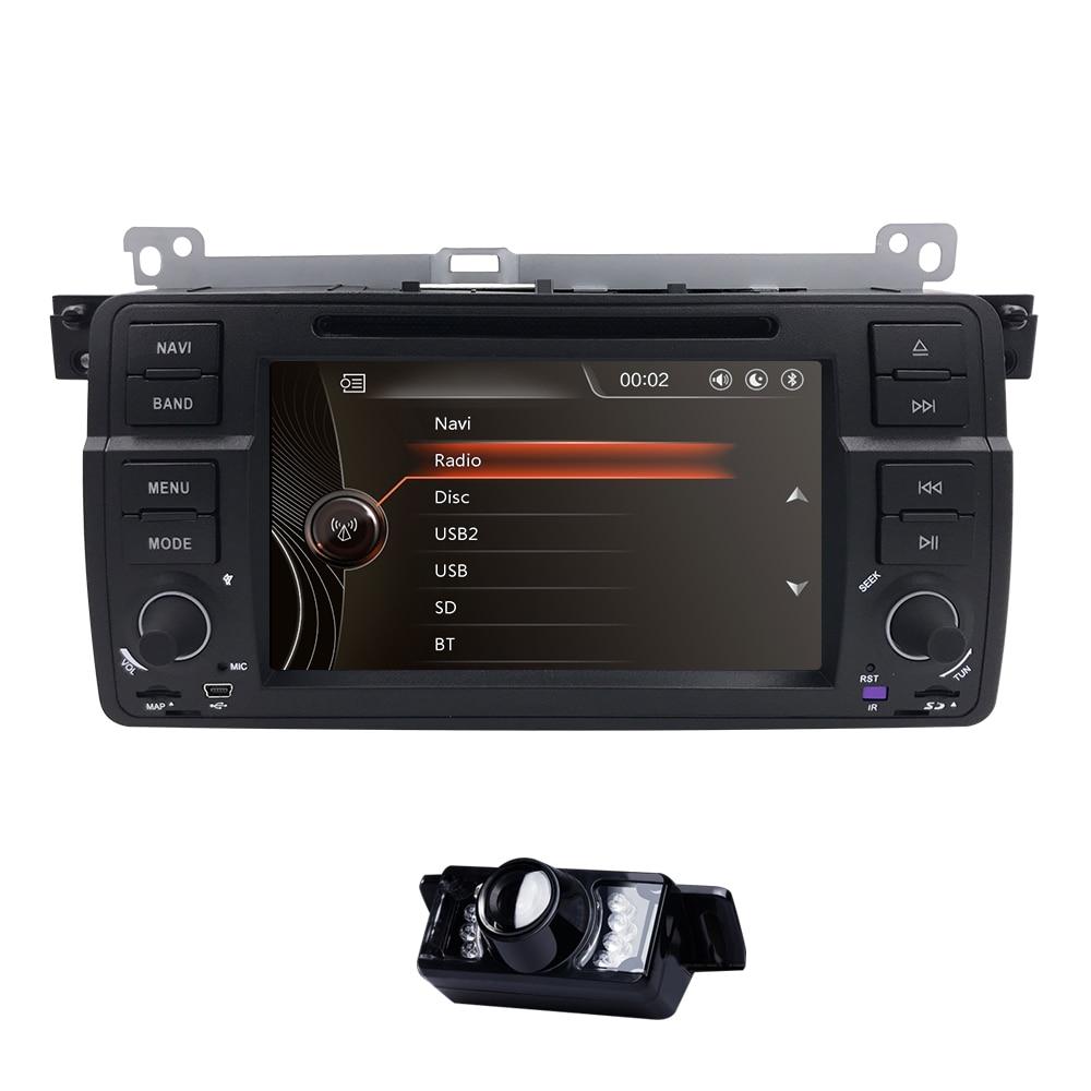 7 pollici WINCE Auto Monitor DVD Multimedia Player Per BMW E46 M3 Radio di Navigazione di GPS Bluetooth SWC DVR DVB-T DAB + SD MIC CAM POSTERIORE7 pollici WINCE Auto Monitor DVD Multimedia Player Per BMW E46 M3 Radio di Navigazione di GPS Bluetooth SWC DVR DVB-T DAB + SD MIC CAM POSTERIORE