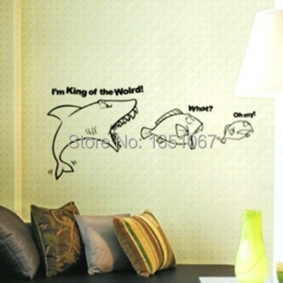 decorate corporate office.  Corporate Cartoon Home DecorationSharks Eat Fish Food Chain To Encourage  For Decorate Corporate Office