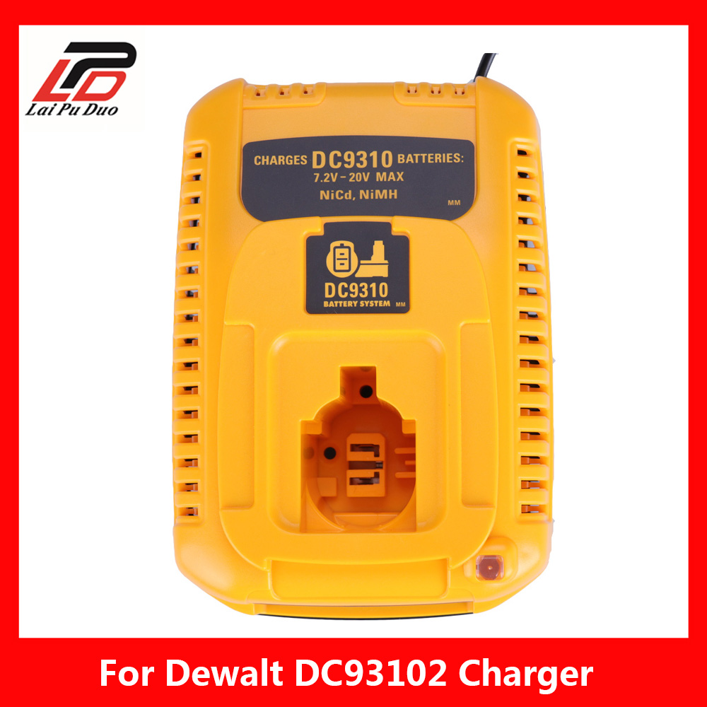 цена на For DEWALT Battery Charger DC9310 7.2V-18V NiCad & NiMh Battery DW9057 DC9071 DC9091 DC9096 batteia charger