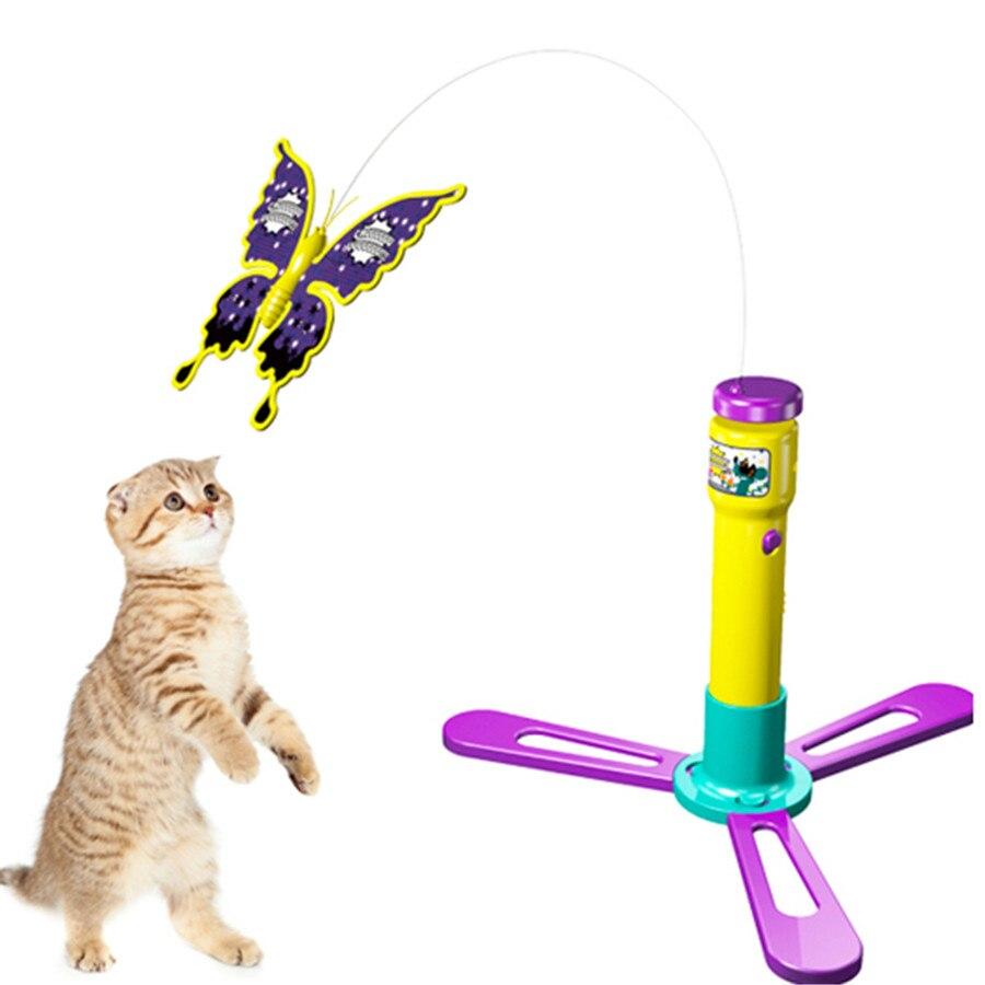 ⑤Suministros Artículos para las mascotas gato juguete interactivo ...