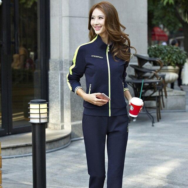 Cotton Sport Suit Pants Jackets Women Mens Sports Suits  1