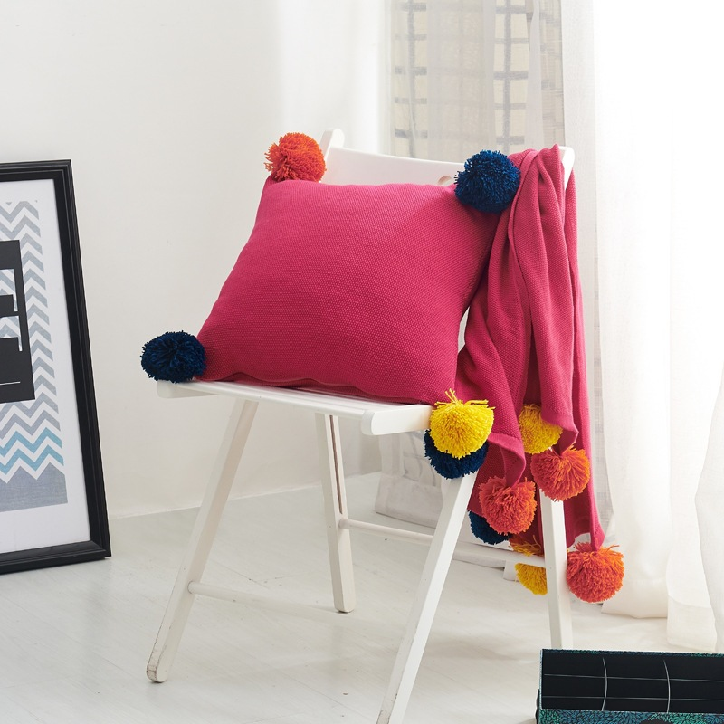 Soft Cotton Throw Banklet Children Cave Receiving Blanket Boys Girls Sofa/Bed Cover Quilt Knitted Blanket