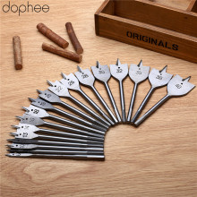 dophee Spade Flat Wood Drill Woodworking Tools Bits Boring Head Paddle Steel Metric 35/38/40mm 1PC