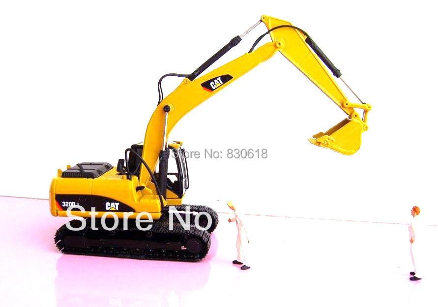 Norscot 1:50 scale DieCast Caterpillar Cat 320D L Hydraulic Excavator 55214 Construction vehicles toy norscot 1 50 siecast model caterpillar cat ap655d asphalt paver 55227 construction vehicles toy