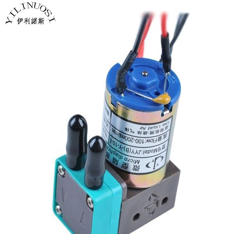 Original JYY (B)-Y-10-1 Micro Diaphragm Pump Ink Pump for Infiniti / Crystaljet / Gongzheng / Flora Inkjet Printers 4pcs lot original knf flora pump for flora inkjet printer pm21461 nmp830 solvent pump